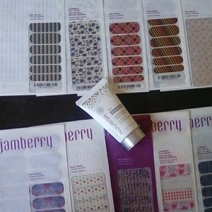 10 complete Jamberry packs- retired & Disney incl.